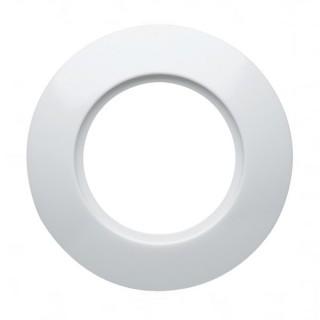 Plaque périphérique plastique - Albatre - 1 poste [- 1930 Rosenthal - Palazzo - Hager - WMV401 - 3250617150453]