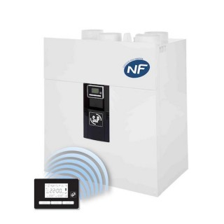 IDEO² 325 Ecowatt RD (Radio) - Promotion avec nouvelle VMC IDEO [- VMC Double flux Très Haut Rendement - 600900 - Unelvent]