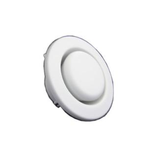 Bouche d'extraction Plastique acoustique Ø 100/125 mm (STC-1-100/125) [- Bouches VMC réglables - Zehnder]
