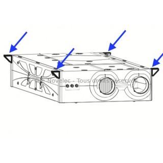 Pattes de fixation VMC HRI-E [- accessoires VMC double flux - Vortice]